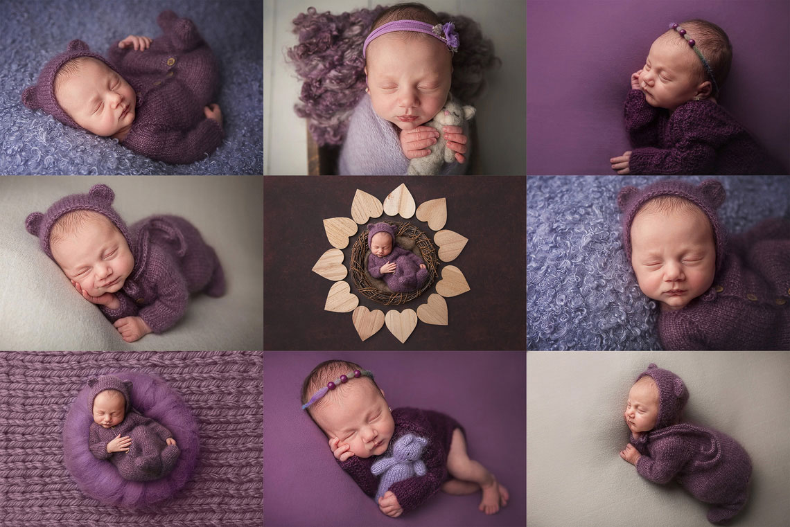 9 fotografii de la sedinta foto de nou-nascut