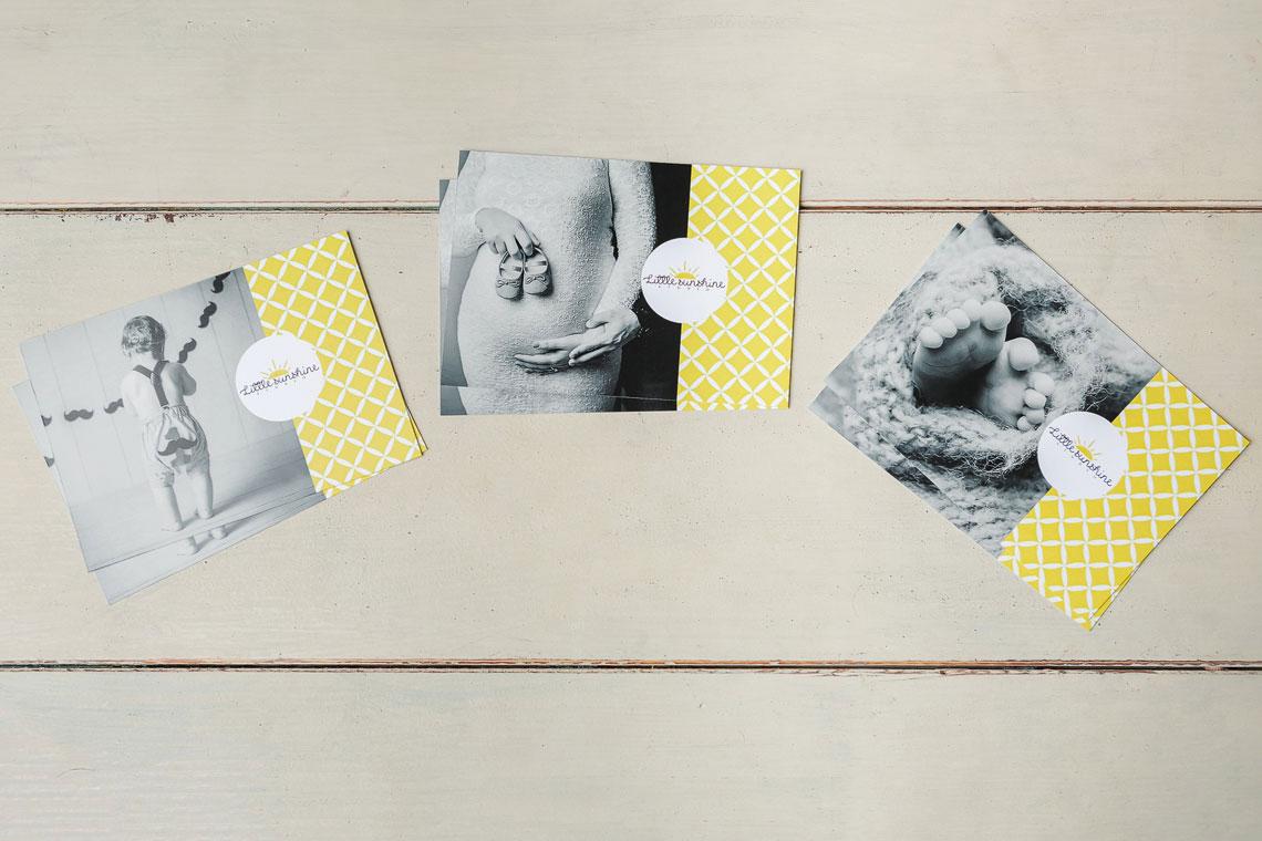 Carduri cadou sedinte foto maternitate, nou-nascuti si copii
