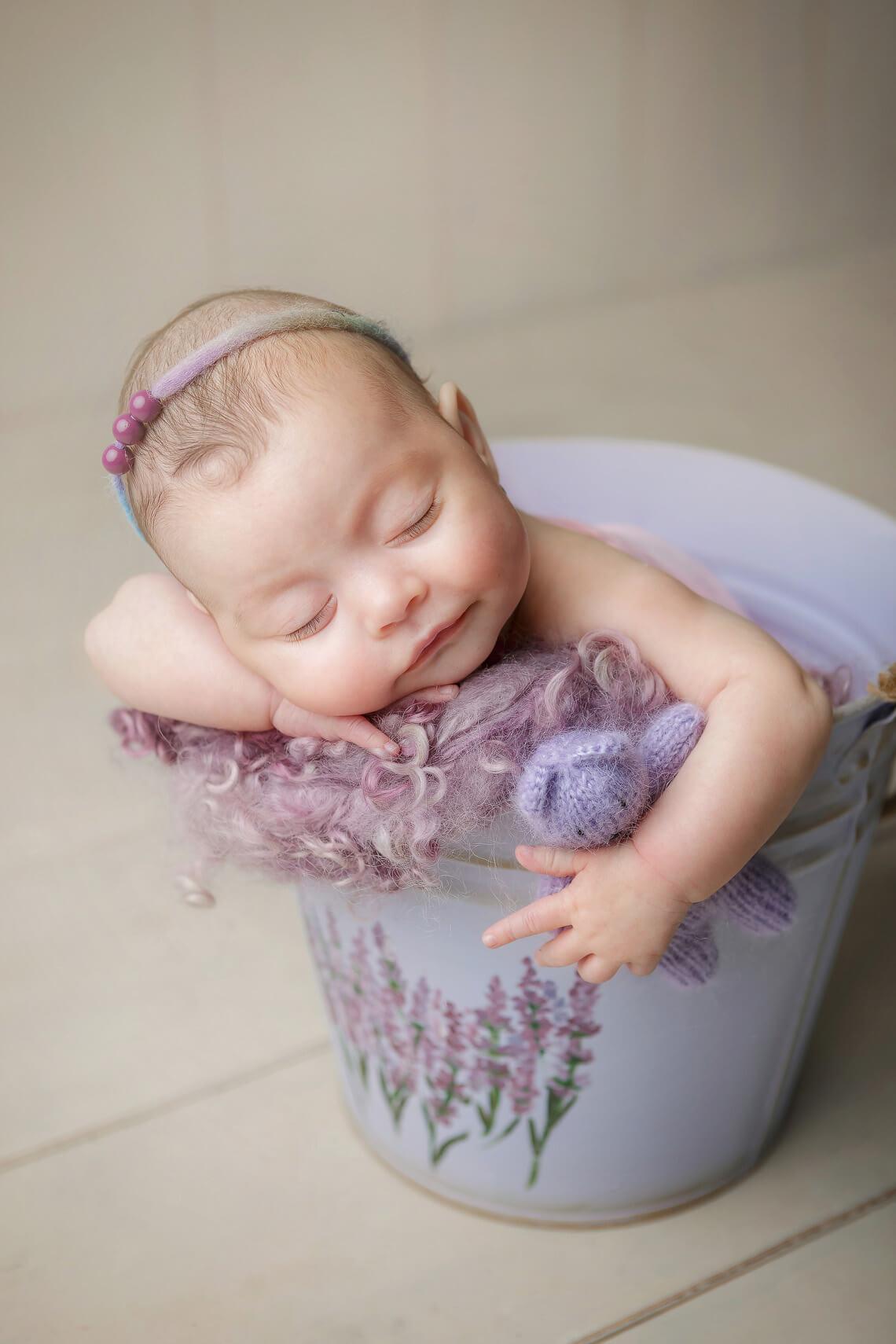 ioana nou-nascut recuzita mov si ursulet albastru